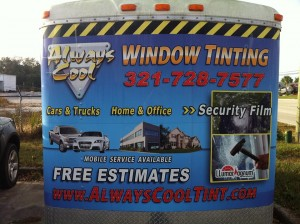 Alway Cool Window Tint Truck